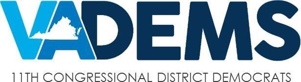 VA DEMS 11th Congressional District Logo